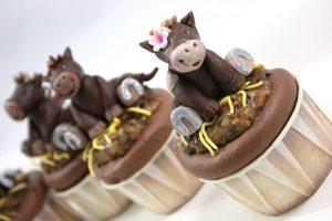 Häst cupcakes