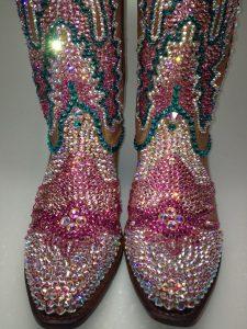 Swarovski crystal bling custom cowboy boots American by STLSparkle www.etsy.com/shop/STLSparkle